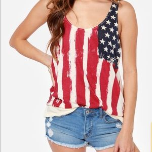 Others Follow by Lulu's American Flag Tank